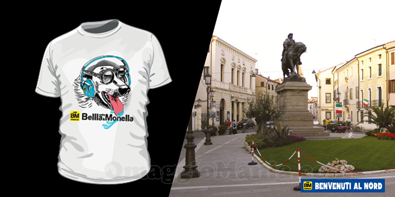 indovina città vinci t-shirt Radio Bellla & Monella 27-04-2017