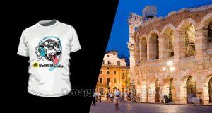 indovina città vinci t-shirt Radio Bellla & Monella