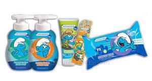kit Personal Care Naturaverde Kids I Puffi