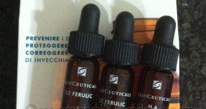kit campioni omaggio SkinCeuticals di Raffaella