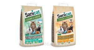 lettiere Sanicat Clean&Green