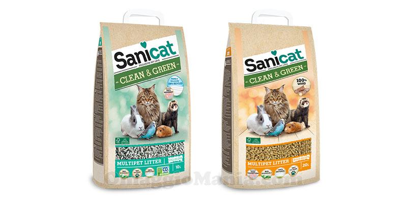 lettiere Sanicat Clean&Green