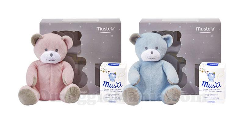 profumo Musti e orsetto Mustela