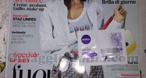 rivista Gioia n.15 e campioncino Nivea Cellular Anti-Age di Barbara