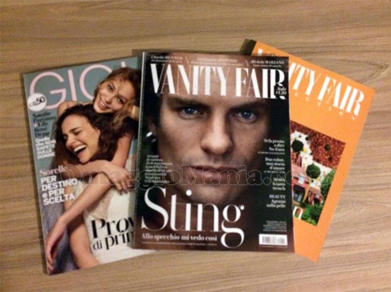 riviste Gioia 14 e Vanity Fair 14 di Anna