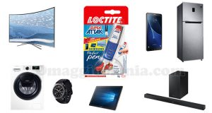 vinci Samsung con Loctite Super Attak Perfect Pen