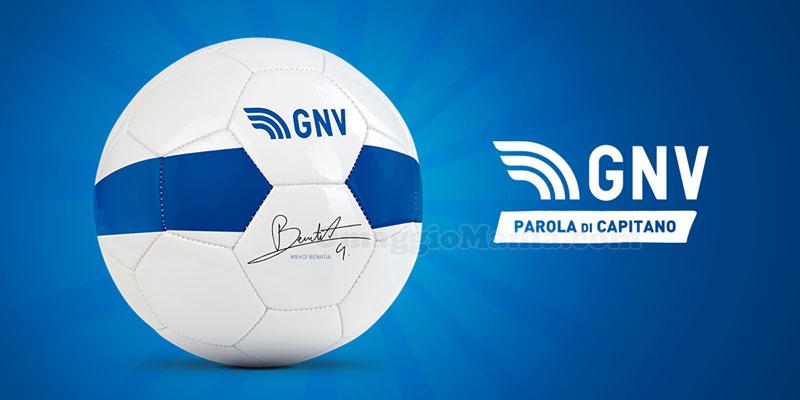 vinci pallone autografato da Benatia con GNV