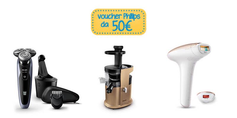 voucher Philips 50 euro aprile 2017