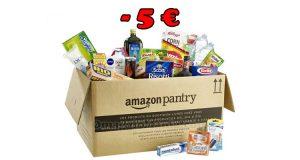 Amazon Pantry sconto 5€