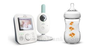 baby monitor e biberon nuovi decori Philips Avent
