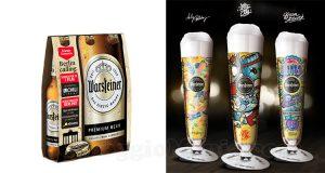 bicchieri Art Collection omaggio con Warsteiner