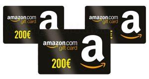 buoni Amazon 200 euro