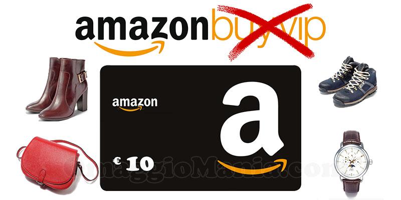 buono sconto Amazon Moda regalo addio BuyVIP