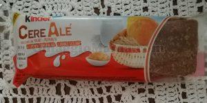 campione omaggio Kinder CereAlé limone e arance siciliane