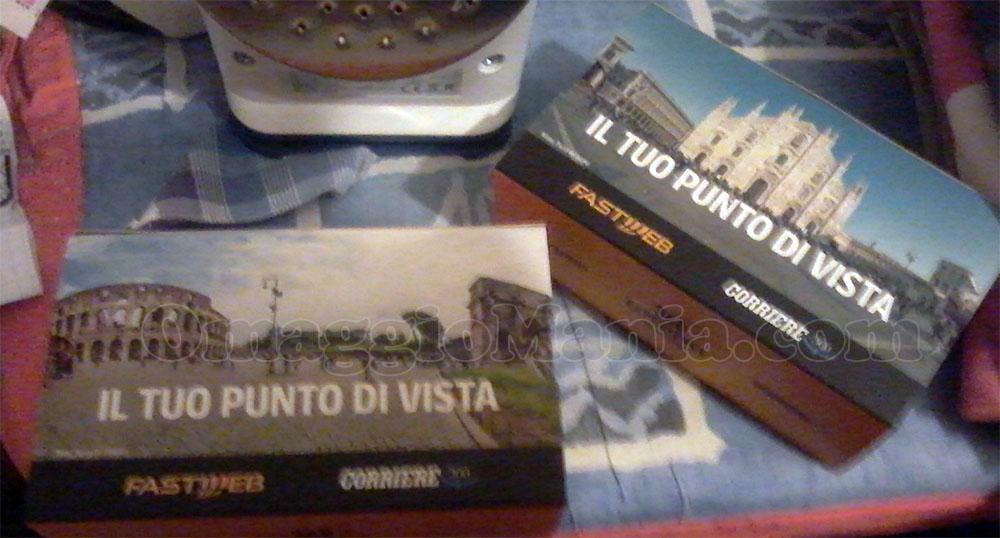 cardboard di Filippo con Fastweb e Corriere 360