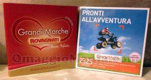 cofanetto Smartbox di Tatiana con Rovagnati Grandi Marche