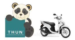 concorso Thun Panda su due ruote