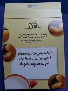 confezione biscotti Mulino Bianco Festa della Mamma di Ginevra