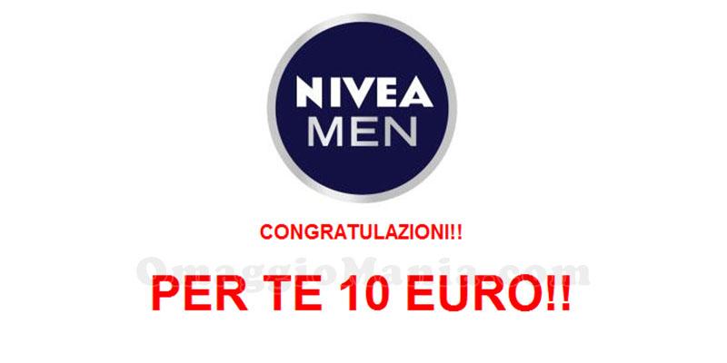 congratulazioni buoni acquisto Nivea Men