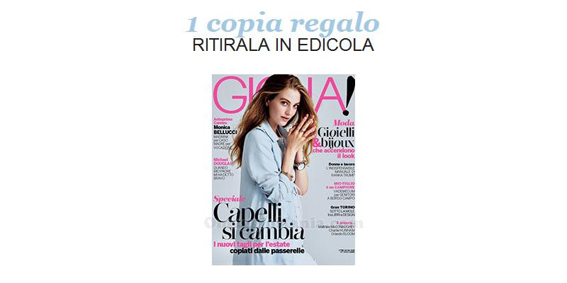 coupon omaggio Gioia 19 2017