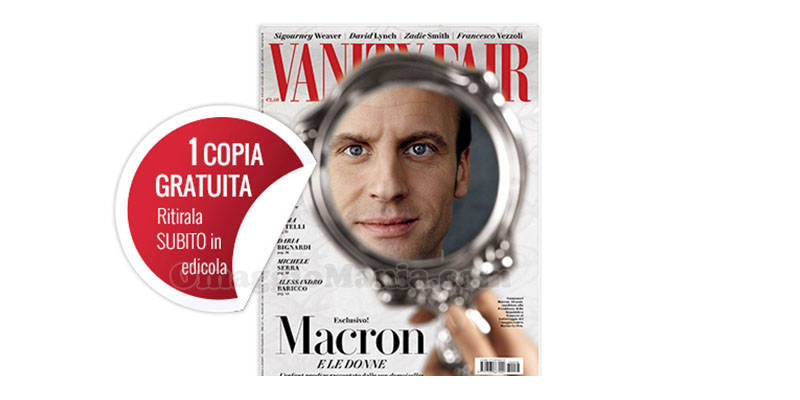coupon omaggio Vanity Fair 18 2017