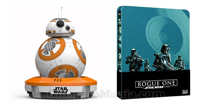 droide Star Wars e steelbook Rogue One