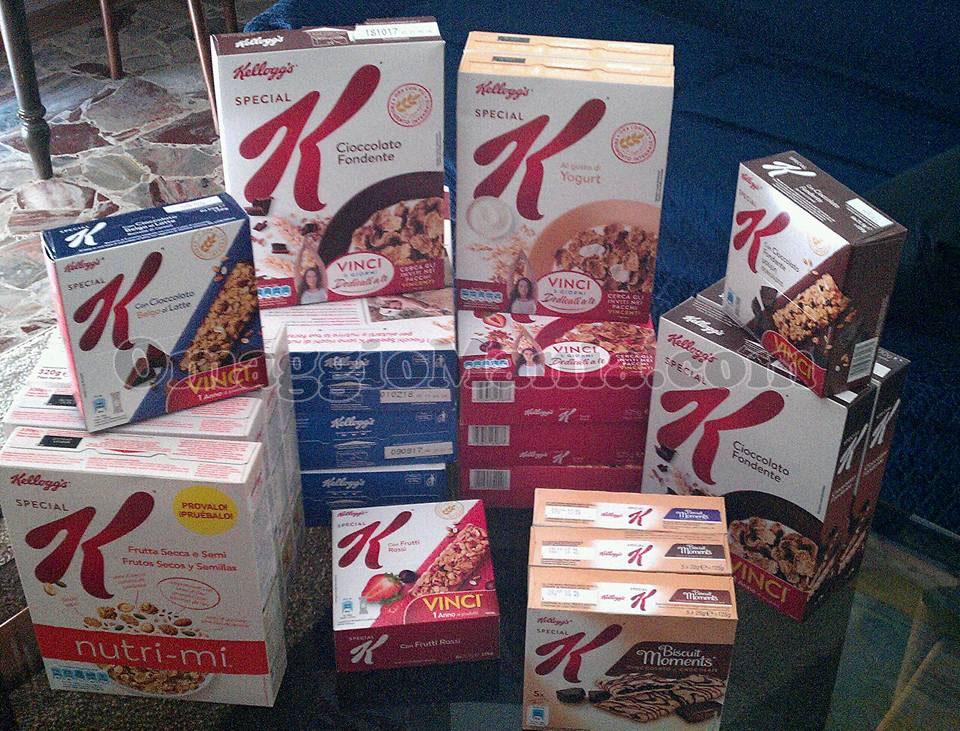 fornitura cereali e snack Kellogg's Special K di Silviabert
