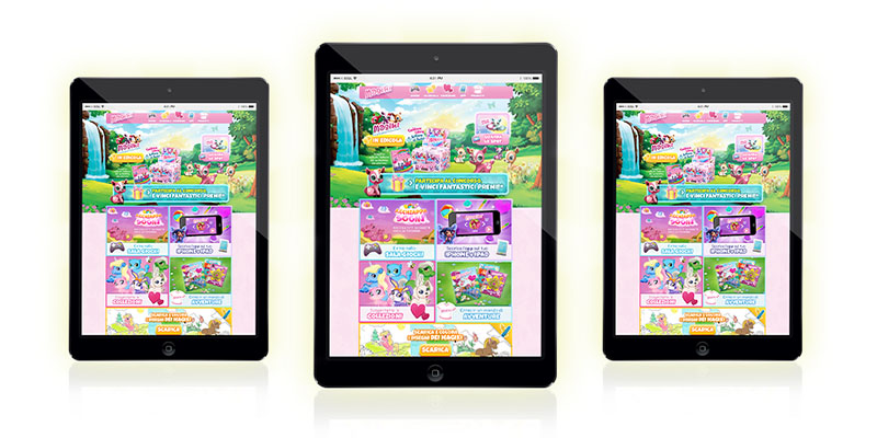 iPad Mini Magiki Unicorni