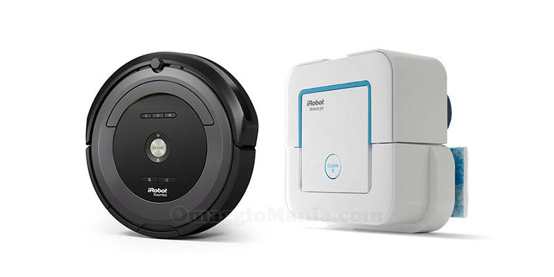 iRobot Roomba e Braava Jet