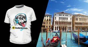 indovina città vinci t-shirt Radio Bellla & Monella 11-05-2017