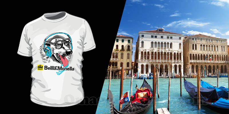 indovina città vinci t-shirt Radio Bellla & Monella 11-05-2017