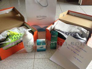 kit Biotherm Nike di Giusy