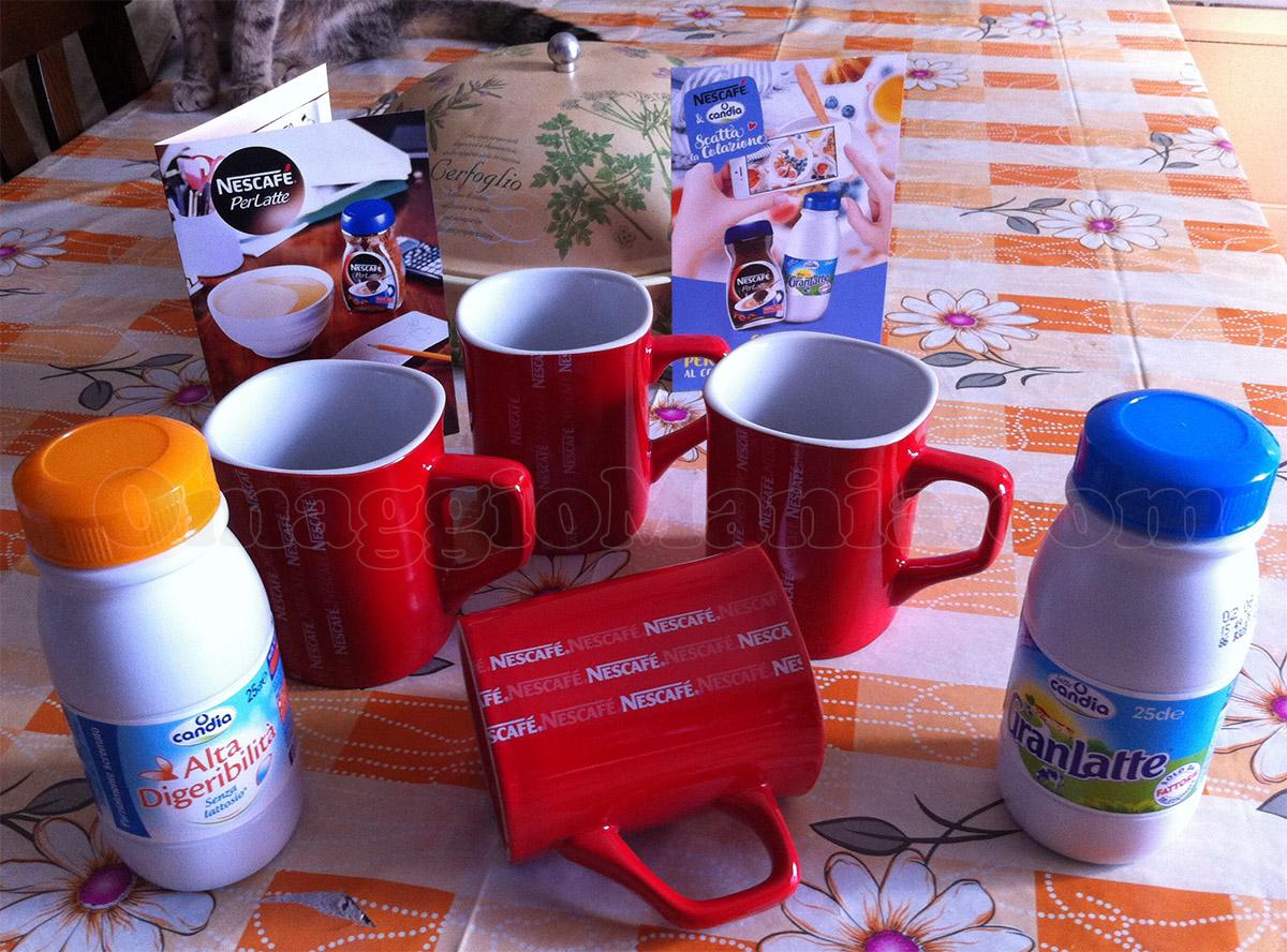 kit Nescafé e Latte Candia di Maria Teresa