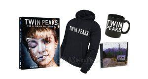 kit Twin Peaks The Ultimate Collection con cd, felpa e tazza