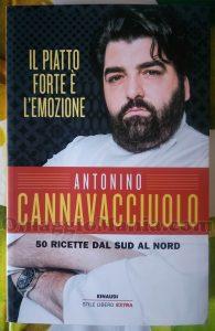 libro autografato da Antonino Cannavacciuolo di Priscilla