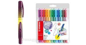 penna stilografica beFab e fineliner pointMax Stabilo