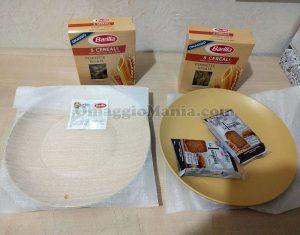 piatti in ceramica colorata Mulino Bianco di Emanuela