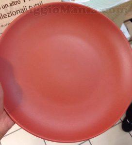 piatto in ceramica colorata Mulino Bianco di Tatiana