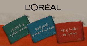 pochette porta smartphone L'Oréal