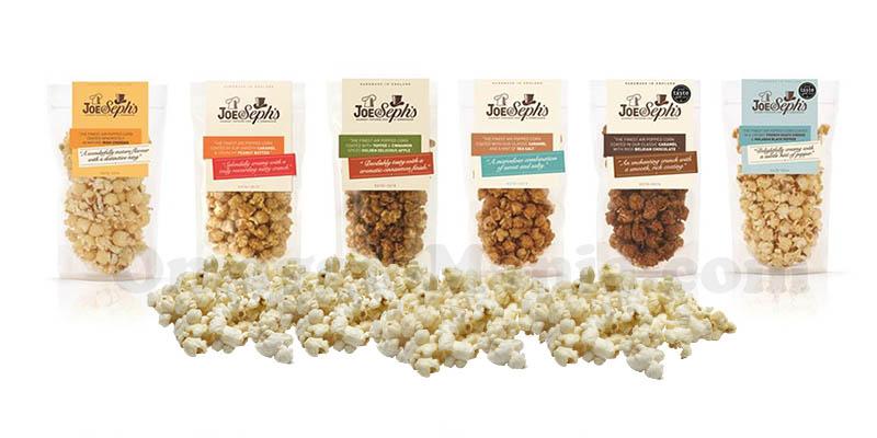 popcorn gourmet Joe&Sephs