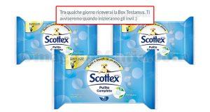 selezione 1.500 tester Testamus Scottex Pulito Completo