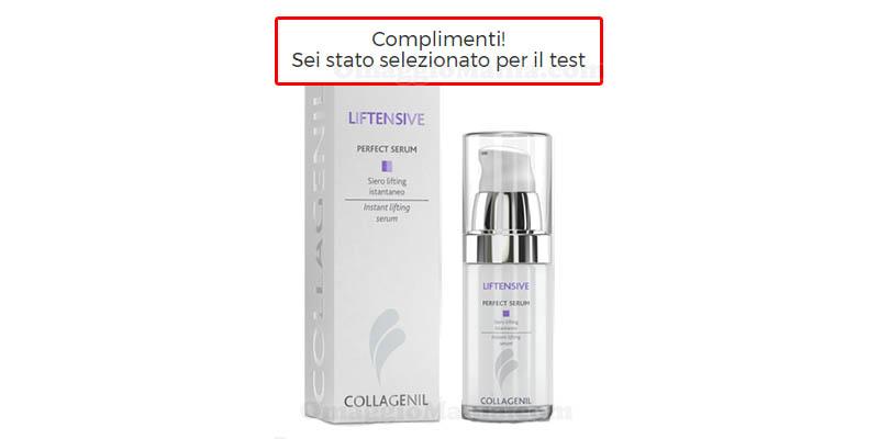 selezione tester Collagenil Perfect Serum Tania