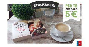 sorpresa MyAutogrill gift card Mondadori