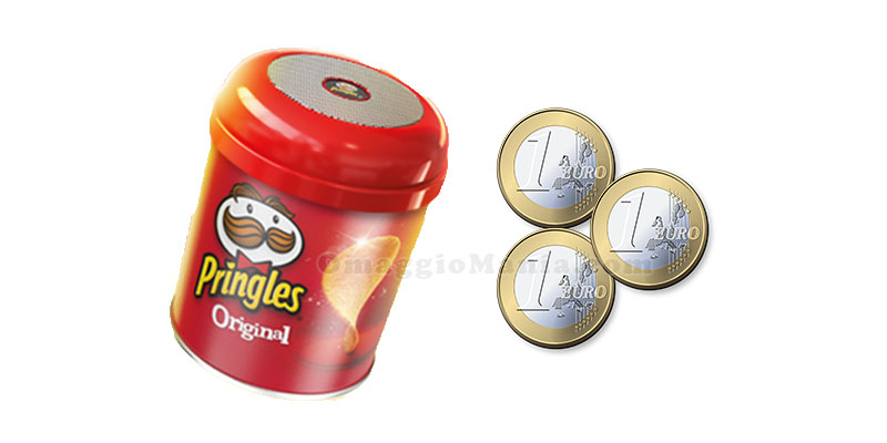 speaker wireless Pringles con contributo