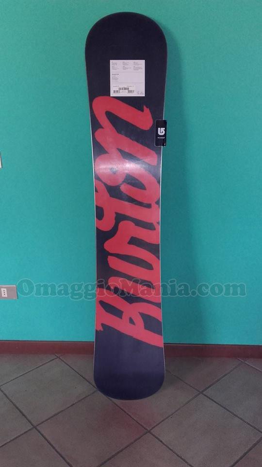 Tavola da snowboard burton con corona omaggiomania - Costruire tavola da snowboard ...