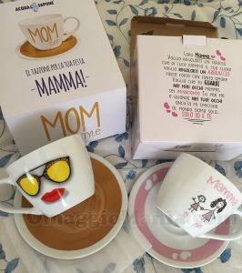tazze Acqua & Sapone Festa della Mamma di Giovanna