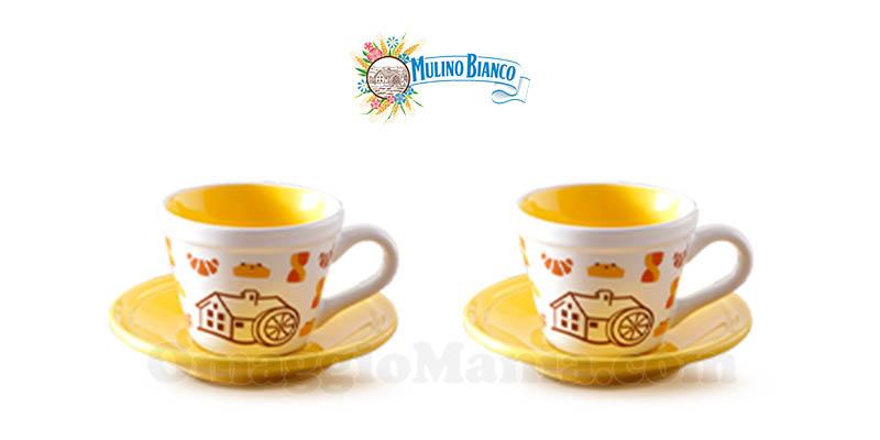 tazzine caffè Mulino Bianco collezione 2017