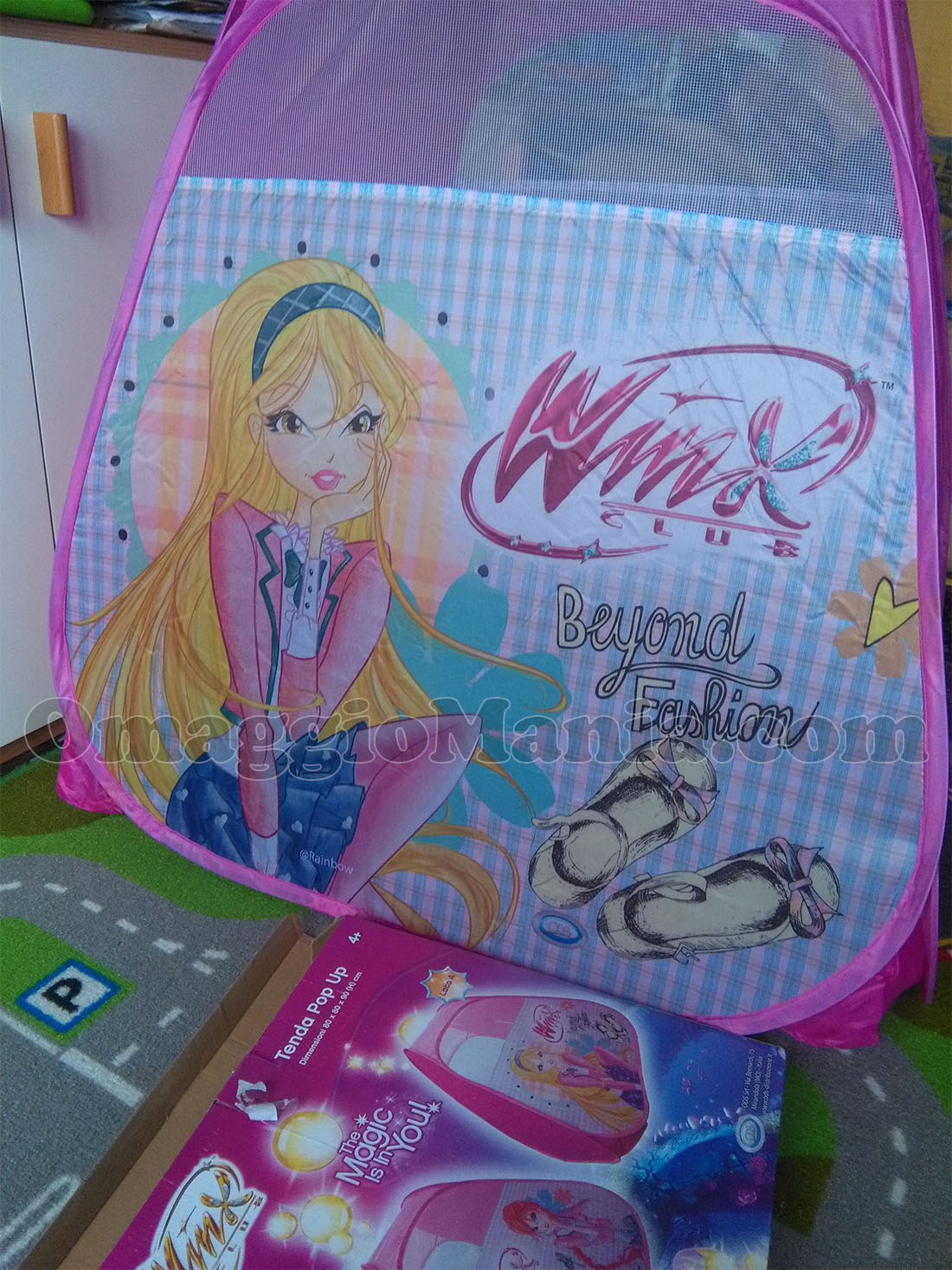 tenda pop up Winx di Natty