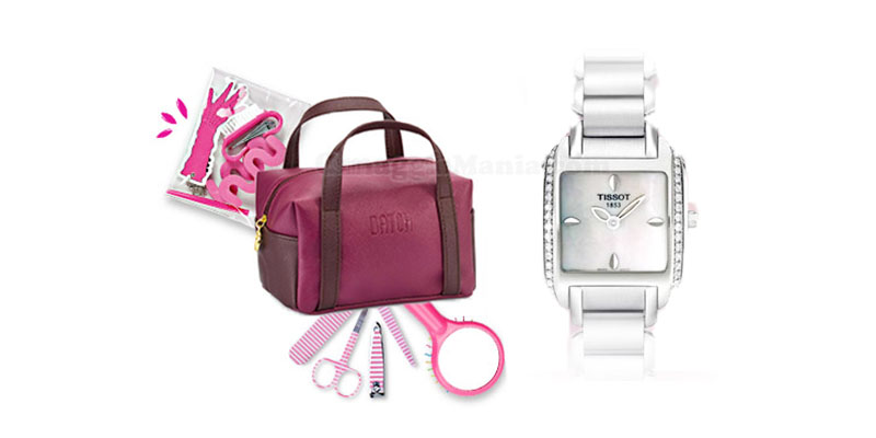 vinci beauty case Datch e orologio Tissot con Bravo Rauch