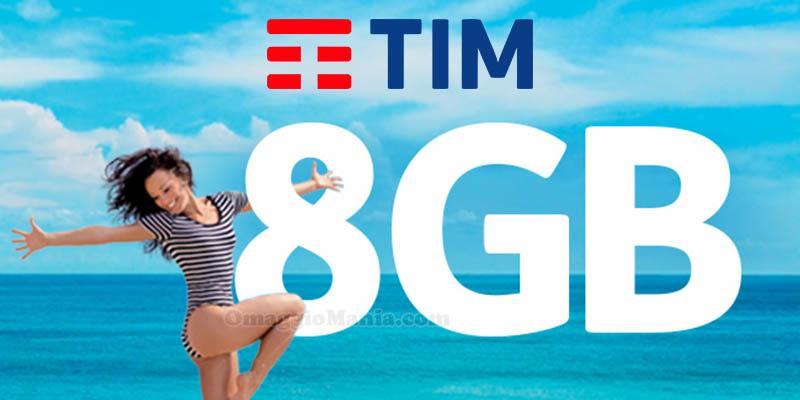 8GB in regalo da TIM